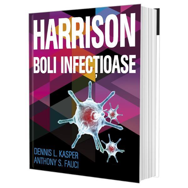 Totul despre bolile infec&539;ioase sub emblema HarrisonAceast&259; nou&259; lucrare din prestigioasa serie Harrison se pozi&539;ioneaz&259; ca o carte de c&259;p&259;tâi în domeniul bolilor infec&539;ioase Se adreseaz&259; studen&539;ilor &537;i medicilor atât pentru a-i ajuta în activitatea din clinic&259; sau cabinet cât &537;i la preg&259;tirea pentru examenele de specialitateÎn