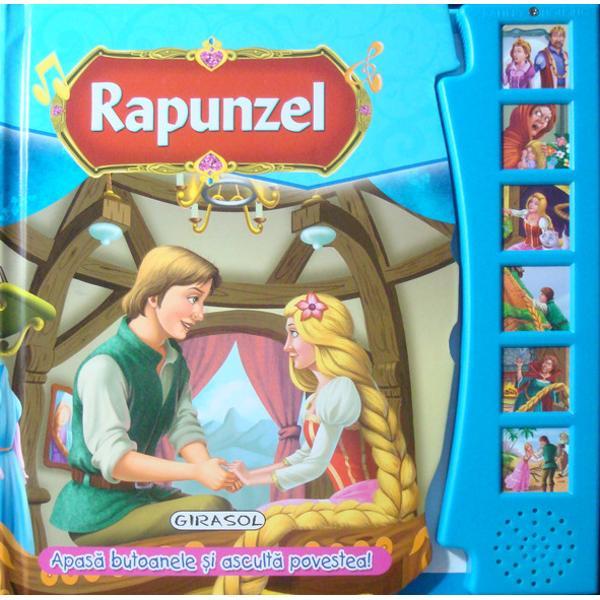 Citeste si asculta Rapunzel