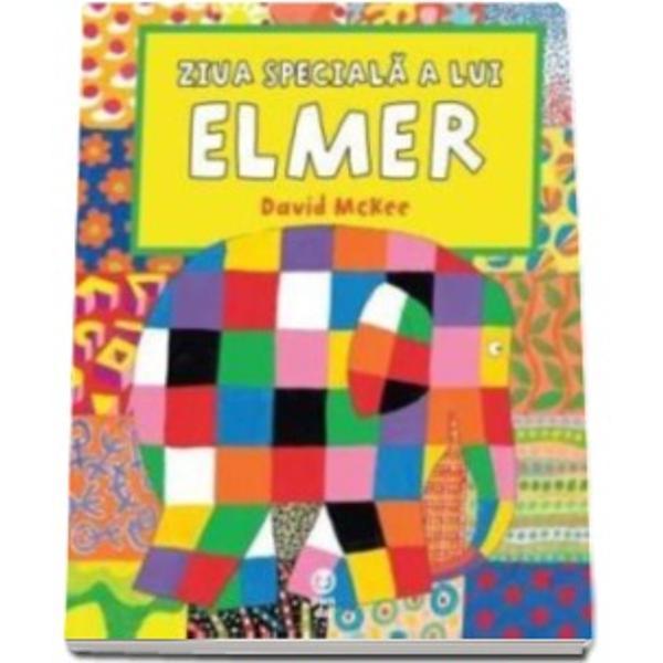 O noua carte din seria povestilor despre Elmer elefantul multicolorPregatirile sunt in toi Se apropie ziua lui Elmer – o zi speciala in care prietenii sai ii fac o surpriza… cam galagioasaIntra in lumea elefanteilor ca sa participi la o parada cum n-ai mai vazut