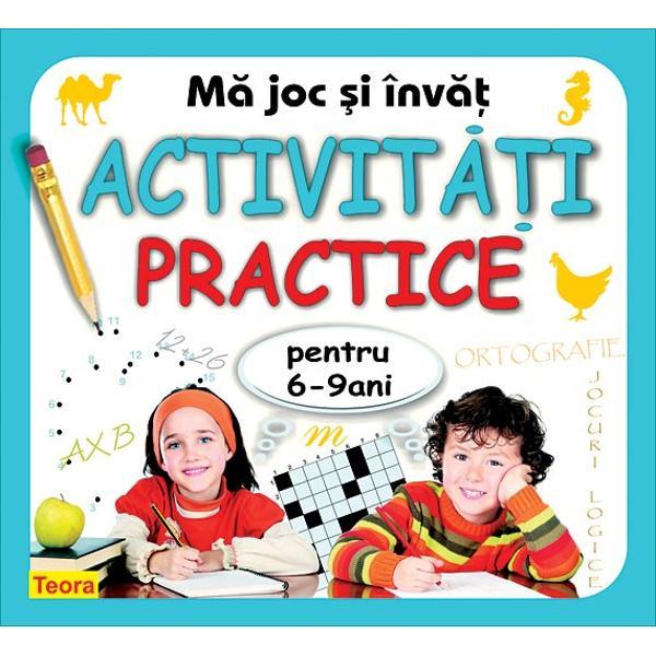O carte amuzant&259; &351;i educativ&259; pentru copiii de 6-9 ani cu- jocuri logice- jocuri pentru dezvoltarea vocabularului- exerci&355;ii de scriere &351;i num&259;rare- exerci&355;ii simple de aritmetic&259;- exerci&355;ii de ortografie- exerci&355;ii de perspicacitate- cultur&259; general&259;- teste diverse- cheia exerci&355;iilorAceast&259; carte nu este un caiet de teme; con&355;ine jocuri care