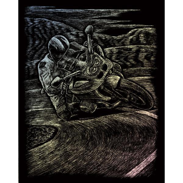 Set gravura pe folie holografica MotocicletaSet gravura pe folie holografica Motocicletate invita sa petreci cateva ore in compania celei mai vechi forme de exprimare artistica de cand exista omul pe pamant Placa neagra predesenata in tonuri fine de gri inchis te va ghida in noua ta calatorie poate chiar initiatica Nu stii niciodata ce pasiuni va trezi in interiorul tauul stylefont-weight