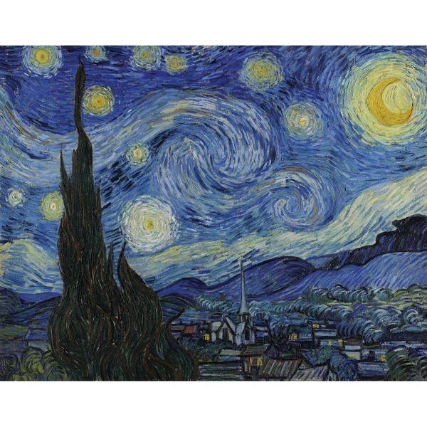 Setul de pictura pe panza reproducere dupa Vincent van Gogh - Starry Night iti poate aduce beneficii nebanuite te ajuta sa te cunosti mai bine sa devii constienta de talentul si puterea ta creativa imaginativaIncepe cu acest set de pictura pe panza bazat pe tehnica griseille si glazing Dezvolta-ti o pasiune pentru arta fiind confortabila si relaxata Simte miscarea pensulei ca o pe-o pana delicata si incearca sa amesteci propriile emotii in culorile