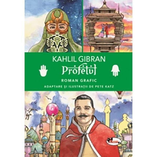 Profetul este un roman grafic o frumoas&259; adaptare ilustrat&259; a uneia dintre cele mai cunoscute opere ale lui Kahlil Gibran care ilustreaz&259; minunatul lirism al lui Gibran dar subliniaz&259; &537;i impactul pozitiv pe care Profetul îl are asupra numero&537;ilor s&259;i cititoriArtistul grafic premiat Peter Katz a ilustrat &537;i adaptat colec&539;ia de 28 de eseuri din Profetul pentru ca ideile sale profunde &537;i atemporale despre numeroasele aspecte ale