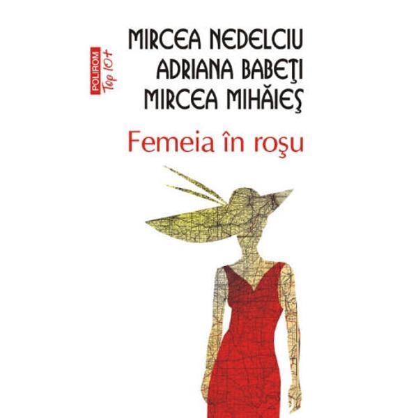 Prefata de Mircea CartarescuPostfata de Martin Adams Mooreville Romanul Femeia in rosu a fost predat Editurii Militare in 1988 Manuscrisul desi apro&173;bat initial a fost retras din tipografie cu interdictia de a fi publicat El a fost editat in 1990 de Editura Cartea Romaneasca primind Premiul Uniunii Scriitorilor pentru proza 1991 si reeditat in 1997 si 1998 de Editura ALL In 1996&8209;1997 a fost ecranizat de regi&173;zorul Mircea Veroiu iar in 1998 a fost dramatizat de