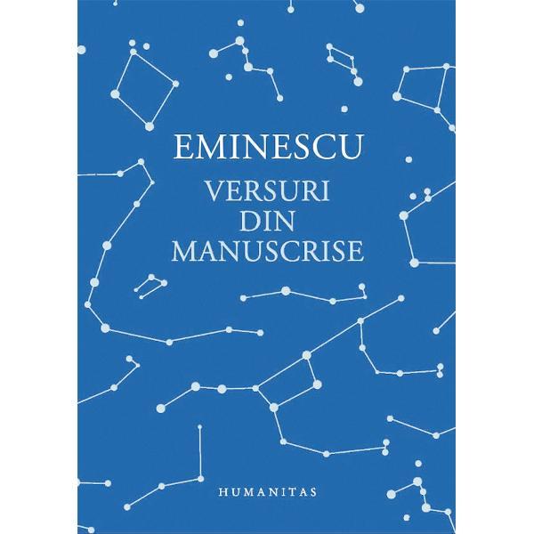 Multe foarte multe dintre versurile eminesciene postume ne-au r&259;mas pân&259; acum necunoscute &536;i asta fiindc&259; pentru editori efortul uria&537; de a pune în ordine complexitatea neobi&537;nuit&259; a manuscriselor lui Eminescu a fost mereu dublat de greutatea de a decide între ceea ce este provizoriu &537;i definitiv Dar provizoriul la Eminescu î&537;i are des&259;vâr&537;irea sa uneori la