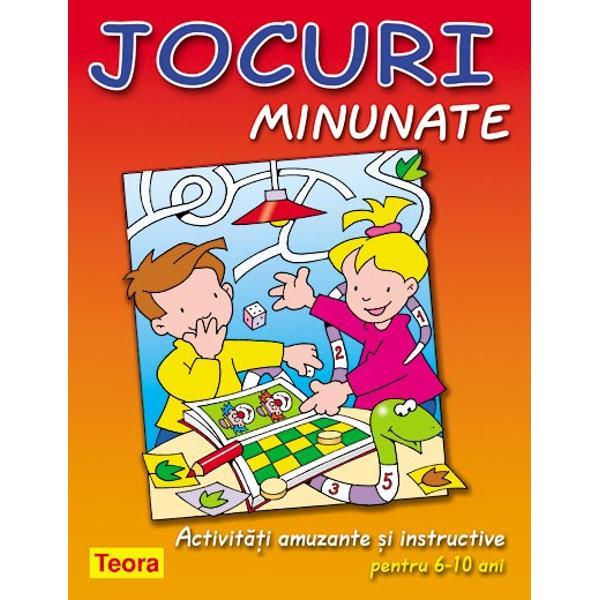 Jocuri minunate pentru copii 6-10 ani