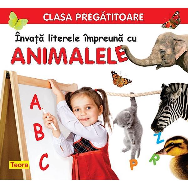 Invata literele impreuna cu animalele