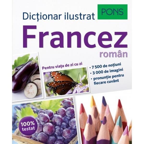 Niciodat&259; franceza nu a fost atât de plastic prezentat&259; Toate cuvintele de care ai nevoie peste 7 500 de no&355;iuni &351;i expresii din cele mai importante domenii ale vie&355;ii Pronun&355;ie corecta transcriere fonetic&259; pentru fiecare cuvânt Vezi &351;i re&355;ii vocabularul se memoreaza mai repede cu ajutorul imaginilor U&351;or de gasit indicele în doua limbi te ajuta sa gase&351;ti rapid cuvântul