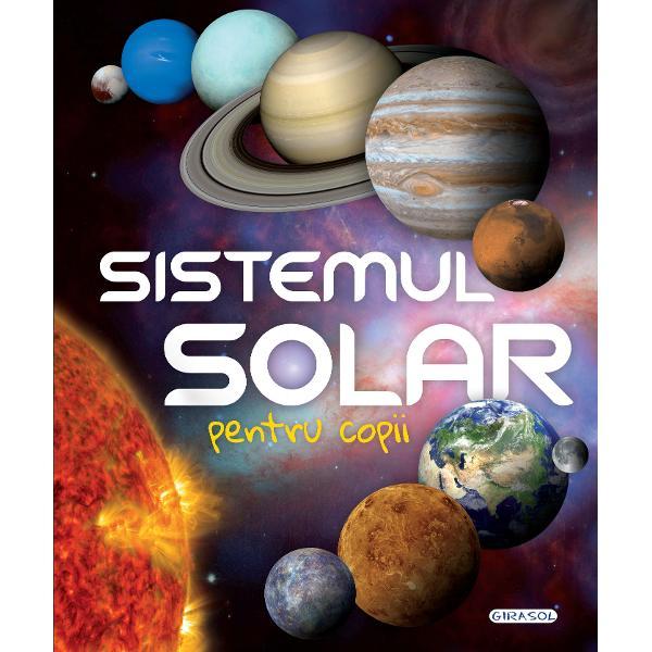 Iti place sa privesti cerul si sa numeri stele Stii cum se numesc planetele din sistemul solar sau de ce galaxia noastra este cunoscuta sub numele de Calea Lactee Stii ce legatura au plantele cu zeii OlimpuluiDeschide aceasta carte si descopera curiozitatile sistemului nostru solar; in plus la final vei gasi un glosar care sa te ajute cu niste termeni mai dificiliPorneste in explorarea spatiului si cucereste chiar si cele