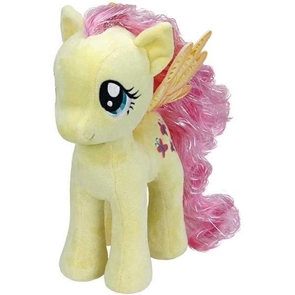 CaracteristiciUn ponei cu par frumosDescopera-i codita de ponei micuta intr-o versiune de plusFiecare ponei are o coada lunga minunata ideala pentru pieptene si stilSunt de peste 16 cm inaltimeIn acest set o primesti pe FluttershyCu simpatica figurina de plus Fluttershy distractia si veselia sunt garantateAlaturi de Fluttershy si prietenii sai My Little Pony de plus fiecare zi