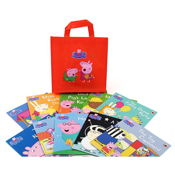 Come join Peppa and her all her friends as they explore and play in this collection of ten books