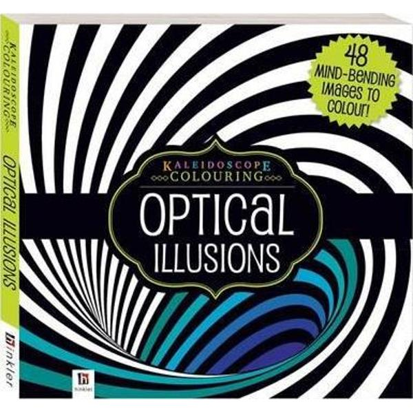 Lose yourself in this mind bending collection of stunning optical illusions just waiting to be coloured and displayed This baffling book is full of perplexing images based on classic optical illusions Add your own personal touch to each image as you colour your way through over 45 amazing designs and allow your mind to wander as the illusions capture your imagination and the distractions around you melt away