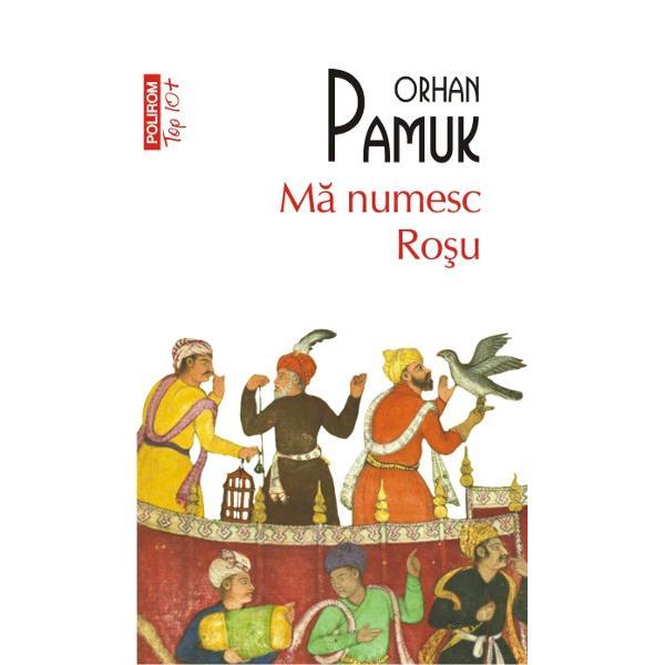 """Ma numesc Rosu despre care Orhan Pamuk spune ca este """"cel mai plin de culoare mai optimist"""" roman al lui acopera noua zile potopite de ninsoare in Istanbulul anului 1591 Miniaturistul Delicat Efendi e tocmit sa ilustreze o carte spre gloria maritului sultan Nu peste multa vreme insa isi sfirseste zilele pe fundul unui put iar imprejurarile mortii lui sint pe masura ce trece timpul din ce in ce mai greu de"""