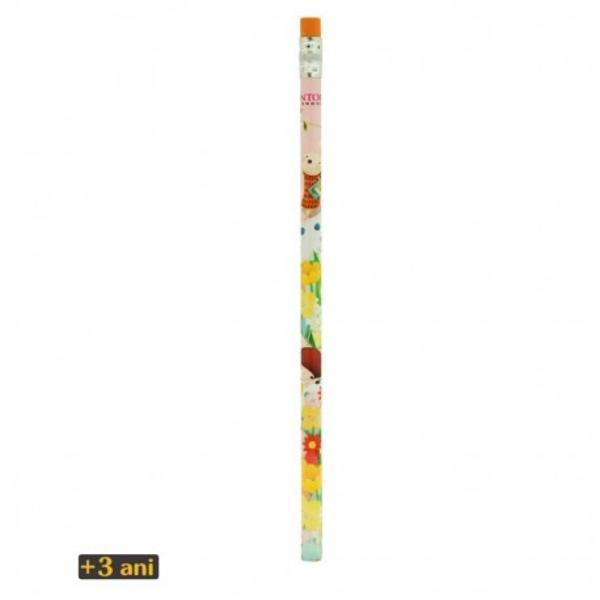 Kori Kumi Creion HBDreamboateste un creion de lemn neascutit infatisand designul Kori KumiDreamboat Creionul cuprinde de asemenea o radiera portocaliecu steluta galbenaatasata de partea principala de lemn printr-o fasie modelata de metalDimensiune aprox 19 x 08 cm