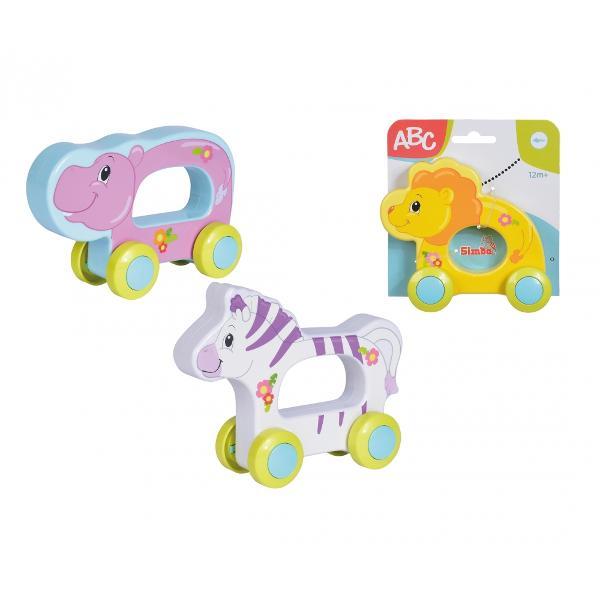 ABC Happy Push Animals