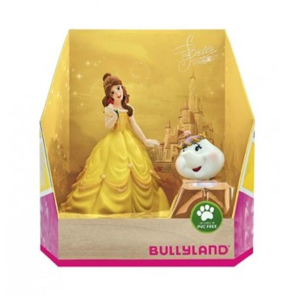 Set de joaca figurine Disney Frumoasa si BestiaDescrierePersonaje din filmul Disney- Frumoasa si BestiaSetul contine 2 figurine Belle si