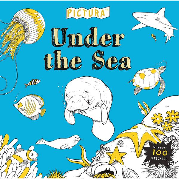 Under the Sea Creative Coluring  100 Stickers