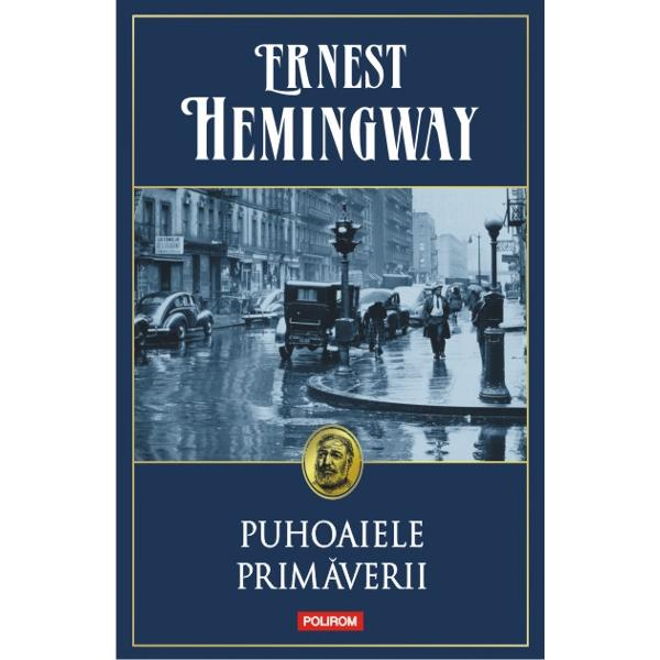 """O scriere romantica in onoarea stingerii unei rase marete""""Hemingway este autorul care mi-a influentat cel mai mult tehnica – prin cartile lui prin uluitoarea sa pricepere in arta scrisului"""" Gabriel Garcia Marquez""""Ceea ce incinta laPuhoaiele primaveriieste"""