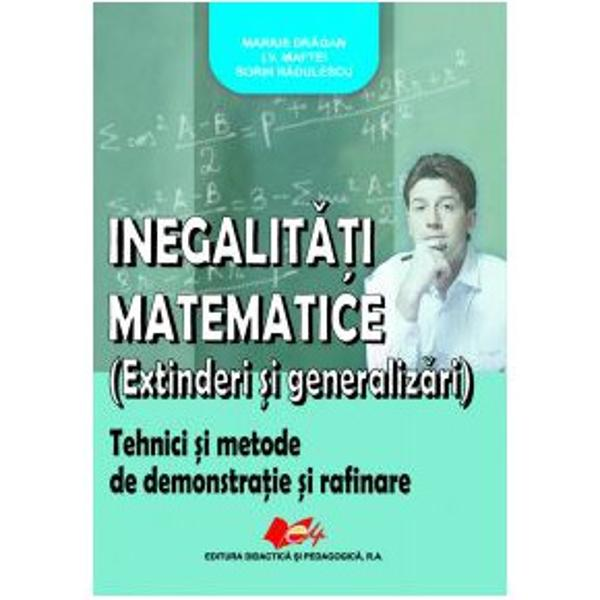 În lucrarea de fa&355;&259; autorii aduc în fa&355;a cititorului un num&259;r variat de identit&259;&355;i geometrice &351;i trigonometrice într-un triunghi oarecare sau tipuri mai speciale de inegalit&259;&355;i din expresii algebrice simetriceUnele inegalit&259;&355;i cunoscute precum inegalitatea lui Lessels-Pelling altele clasice de mare importan&355;&259; Gerretsen Blundon Schur Erdös-Mordell tipurile speciale de inegalit&259;&355;i