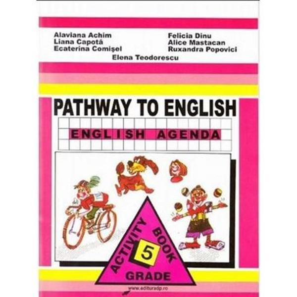 Pathway to English Caiet de engleza clasa a V a