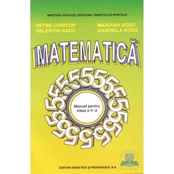 Matematica clasa a V a Chirtop
