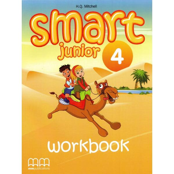 Smart Junior 4 - Workbook with CD