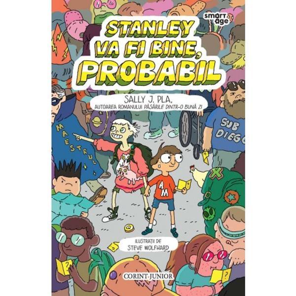 Stanley se simte bine cu revistele sale de benzi desenate despre care &537;tie un milion de chestii Ce se întâmpl&259; în jurul s&259;u mai ales în haosul la &537;coal&259; îi creeaz&259; st&259;ri de panic&259; fiindc&259; este mult prea sensibil din punct de vedere senzorial Dar Stanley î&537;i g&259;se&537;te alinarea inventându-&537;i propriul supererou pe John Lockdown &537;i î&537;i propune s&259; participe la