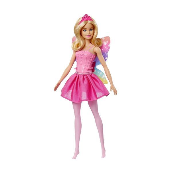 Descopera lumea magica unde totul este posibil cu Barbie Dreamtopia Cu aceste papusi Barbie Zane povestile prind viata Tinuta de vis are un corset minunat cu model in relief si o fustita perfect asortata Ai observat si aripioarele papusii Acestea raspandesc magia Barbie prin toata camera de joaca O tiara deosebita adauga o nota regala pentru jocul de rol cu printeseVarsta recomandata 3 ani