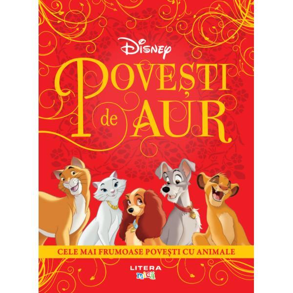 Deschide aceast&259; carte &351;i vei p&259;trunde în universul magic al pove&351;tilor clasice Î&539;i vei reîntâlni eroii prefera&539;i din filmele Disney &537;i îi vei înso&539;i în minunatele lor aventuri• Pisicile aristocrate• Regele Leu Dumbo• 101 dalma&539;ieni•Doamna &537;i Vagabondul