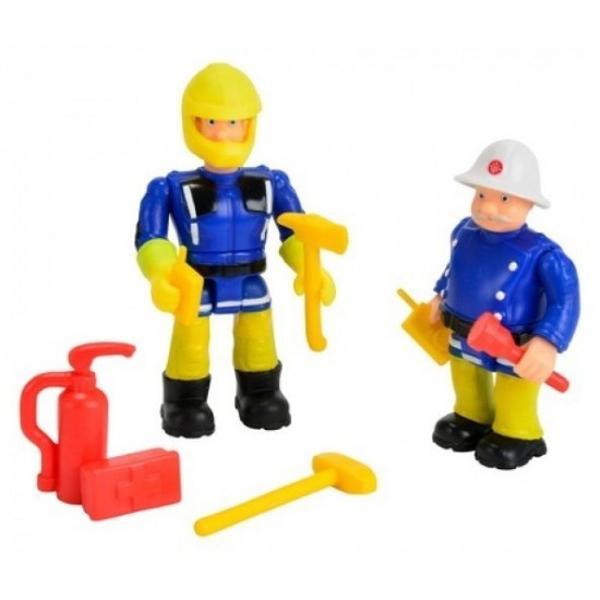 Pompierul Sam set 2 figurine cu accesoriiAlaturi de pompierul Sam si prietenii lui poti deveni si tu un adevarat pompierSetul contine 2 figurine din desenul animat Pompierul Sam - Fireman Sam impreuna cu 6 accesorii de la Simba ToysVa rugam sa supravegheati copiii in timp ce se joaca