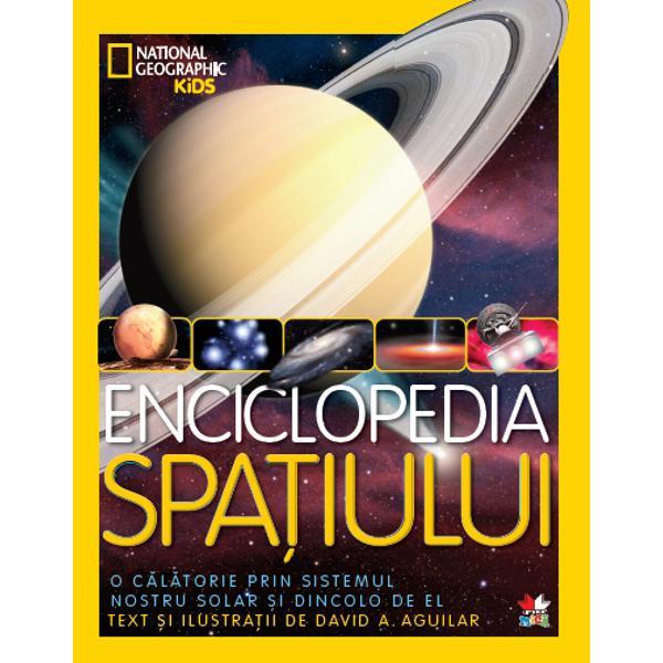 &206;mbarc&259;-te &238;ntr-o c&259;l&259;torie prin sistemul solar&160;&351;i aventureaz&259;-te spre stele &351;i dincolo de ele&160;&238;n aceast&259; enciclopedie spectaculos ilustrat&259;&160;a universului nostru- Peste 70 de desene originale special realizate inclusiv&160;imagini ale planetei nou descoperite l&226;ng&259; Alfa Centauri&160;&351;i care ar putea g&259;zdui via&355;&259;- Extraordinare imagini fotografice ale inelelor lui