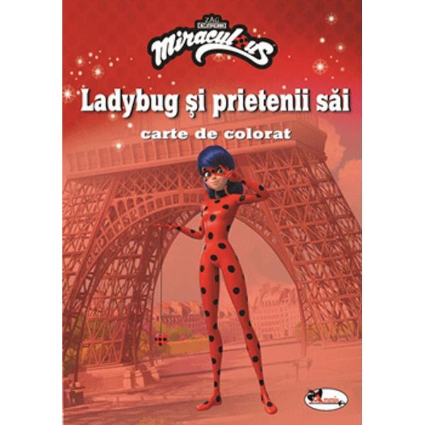 Marinette Dupain-Cheng este o adolescent&259; ca oricare alta care de&539;ine un secret teribil se poate transforma în Ladybug o supereroin&259; cu puteri miraculoase Folosindu-se de aceste puteri dar &537;i de ajutorul altor supereroi Ladybug lupt&259; pentru a ap&259;ra Parisul de r&259;uf&259;c&259;toriVrei s&259; te al&259;turi supereroilor din seria Miraculous Ai nevoie doar de