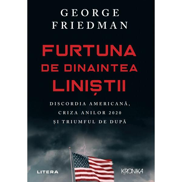 Maestru al geopoliticii &537;i cel mai bine vândut autor în topurile New York Times George Friedman se concentreaz&259; asupra Statelor Unite prezicând modul în care anii 2020 vor aduce o reorganizare dramatic&259; &537;i o remodelare a guvernului american a politicii externe a economiei &537;i a culturii SUA  În cea mai recent&259; carte a sa George Friedman î&537;i îndreapt&259; aten&539;ia c&259;tre viitorul Statelor