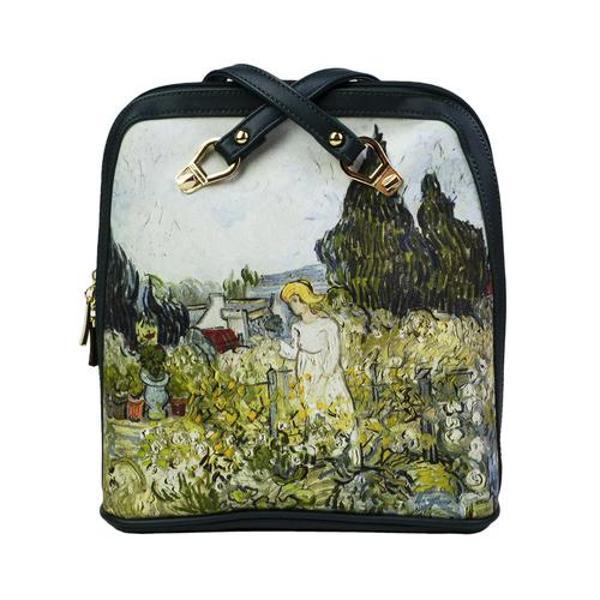 Geantaeste accesoriul de care femeia moderna nu se poate lipsiFie ca mergi la o plimbare fie ca ai ceva urgent de rezolvat aceasta geanta cu design modern si modelinspirat din picturile lui Van Gogheste utila si perfect adaptata nevoilor taleDimensiuni 26 x 11 x 29 cm