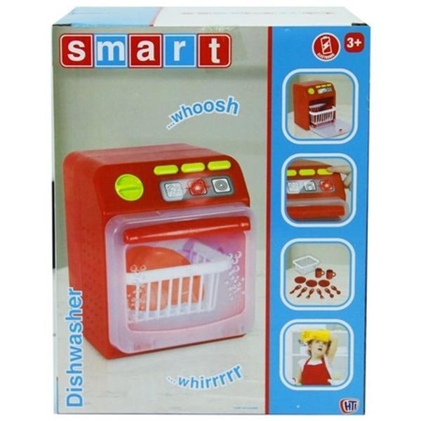 Masina de spalat vase din plastic pentru gospodina mica care contine cos de spalat vase farfurioare tacamuri cupe