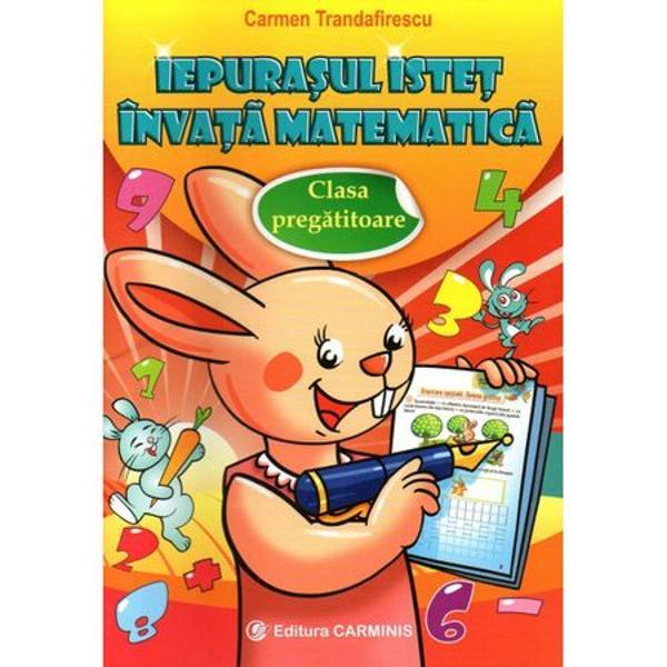 Iepurasul istet invata matematica clasa pregatitoare