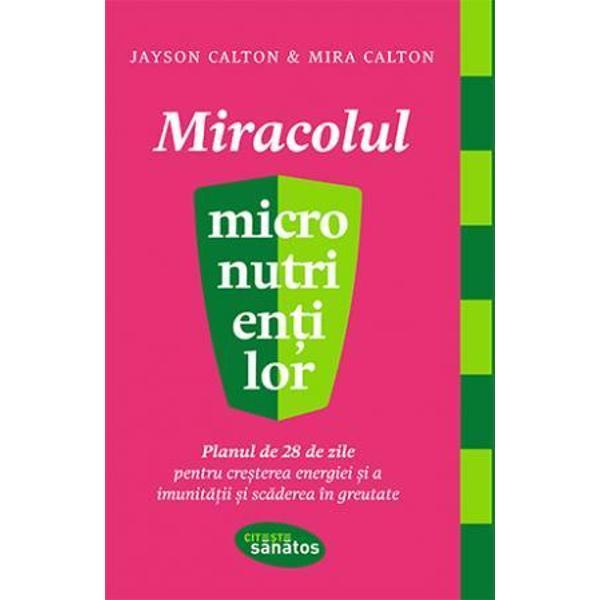 Potrivit autorilor acestei c&259;r&539;i stilul nostru de via&539;&259; actual duce la o diminuare &537;i chiar eliminare din alimenta&539;ie a micronutrien&539;ilor – vitamine &537;i minerale esen&539;iale pentru o s&259;n&259;tate optim&259; Iar acest deficit cauzeaz&259; majoritatea bolilor larg r&259;spândite în prezent Mira îns&259;&537;i sufer&259; de osteoporoz&259; avansat&259; la vârsta de 30 de ani Dar cu ajutorul lui Jayson a