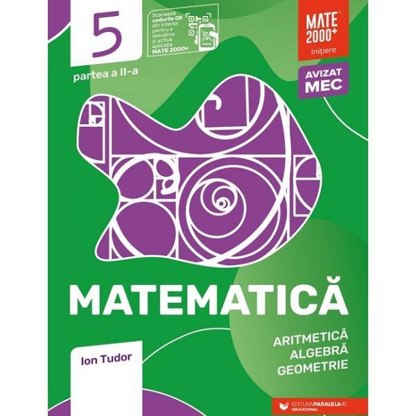 Avizat MEN conform OM nr 30228012018Cea mai popular&259; &351;i mai longeviv&259; colec&355;ie de matematic&259; din Rom&226;nia&160;MATE 2000 a Editurii Paralela 45 reprezint&259; de mai bine de dou&259; decenii&160;suportul num&259;rul 1 de &238;nv&259;&355;are a matematicii pentru majoritatea elevilor din &238;nv&259;&355;&259;m&226;ntul preuniversitar at&226;t prin activit&259;&355;ile matematice de