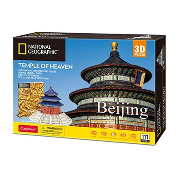 Templul cerului sau in traducere propriu-zisa - Altarul cerului este un complex de cladiri de tip taoiste aflate in sudul Beijingului Templul era vizitat de catre imparatii dinastiilor Ming si Qing in timpul ceremoniilor anuale de rugaciune catre Cer cu scopul de a avea o recolta buna El este considerat templu taoist desi ideea venerarii Cerului in special de catre imparat dateaza de dinaintea taoismului Setul contine 111 piese si face parte din colectia 3D de la Cubic Fun Aceasta