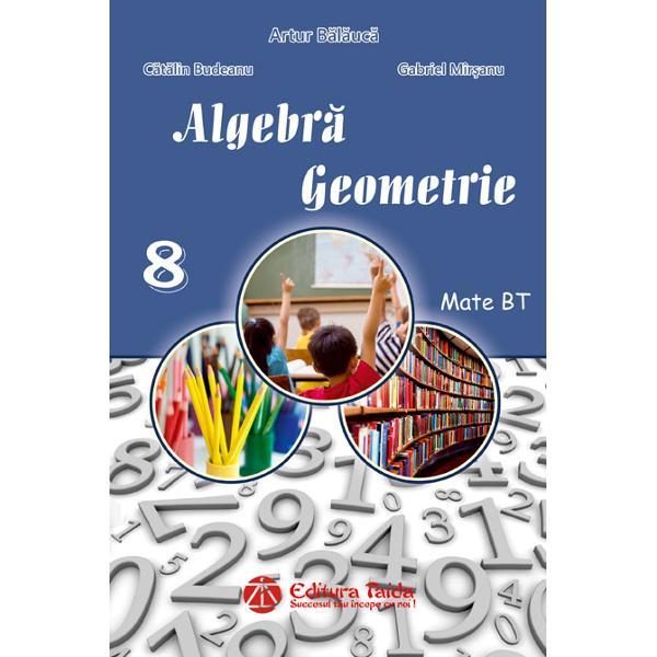 Culegere de algebra si geometrie clasa a VIII-a