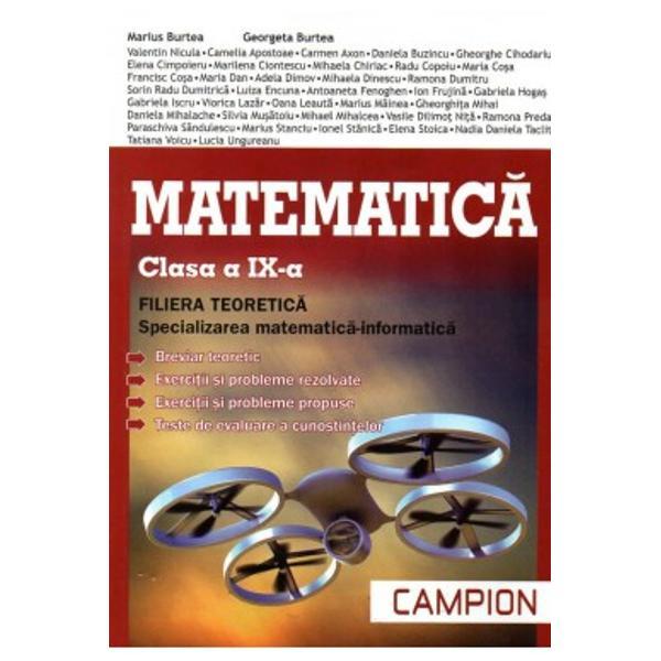 Matematica clasa a IX a breviar