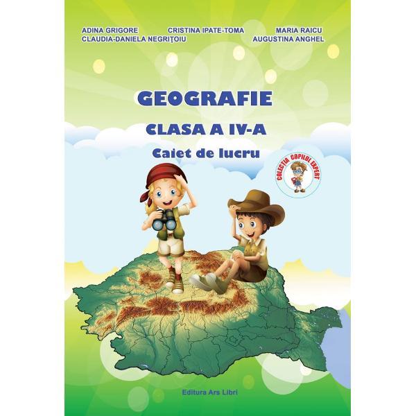 Geografie caiet de lucru clasa a IV a