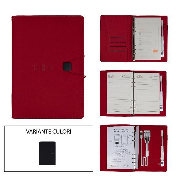 Agenda cu baterie externa 12000MAHDimensiune 24x1866 pagini