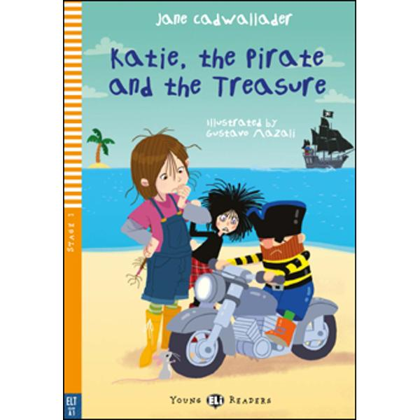 CEFR LevelBelow A1ThemeFriendshipKatie has some special friends Regazza the doll and Monty the mouseThey live in the Land of Forgotten Toys the place where toys go when they are thrown away or are left forgotten in a toy box for a long timeOne day Regazza and Monty go to find Katie A pirate with a problem has just arrived in the