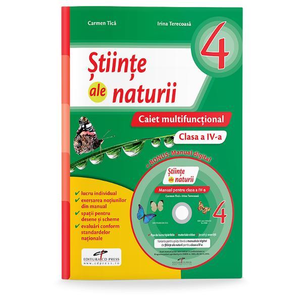 Stiinte ale naturii caiet  manual digital clasa a IV-a