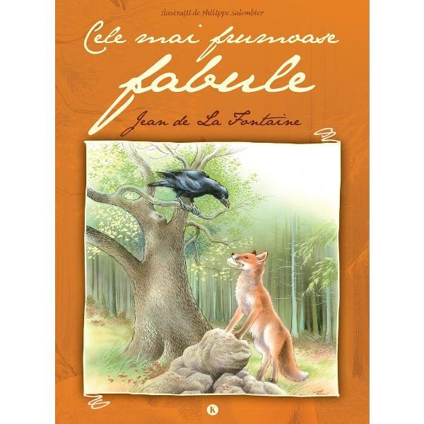 Cartea cuprinde cele mai cunoscute &351;i îndr&259;gite fabule scrise de La Fontaine versurile fiind înso&355;ite de ilustra&355;ii color atractive