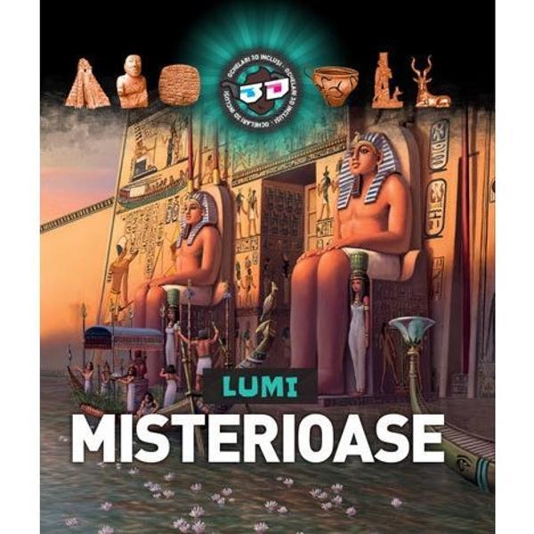 Cartea 3D prezint&259; istoria celor mai cunoscute imperii antice - Egiptul Grecia Roma &351;i Chinaoferind informa&355;ii inedite &351;i pre&355;ioase despre via&355;a oamenilor care au tr&259;it în acele timpuri