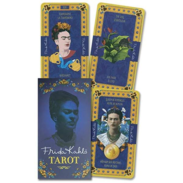 Created as a tribute to Frida Kahlo this outstanding deck features unique portraits of this beloved painter in addition to beautiful imagery that is perfect for readers and collectors Representing the spirit of strength and avant-garde charisma theFrida Kahlo Tarot Deckspeaks to the emotions and feelings common to all human beings as it is seen in art life and culture