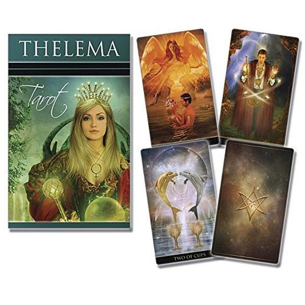 Rich in esoteric symbolism magically inspired and beautifully illustrated theThelema Tarotis woven like an enchanting spell Let the evocative cards of this deck be your guide as you explore the edge between light and dark love and struggle With deep wisdom and the levity of true inspiration this is a reading deck for beginners and tarot adepts alike