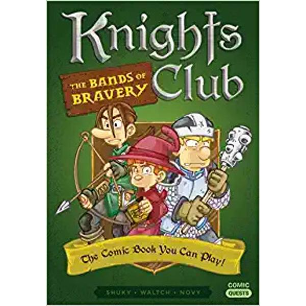 This middle grade graphic novel series makes YOU the valiant hero of a fantasy quest—pick your panel find items gain abilities solve puzzles and play through new storylines again and againMagic adventure and triumphant battles await you in this graphic novel that plays just like a role-playing game Choose to play as one of three brothers eager to join the Royal Order of Knights and keep track of your hit points abilities and inventory on a handy